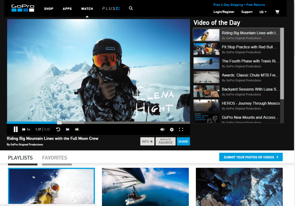GoPro-Watch-Channel-user-generated-video-content