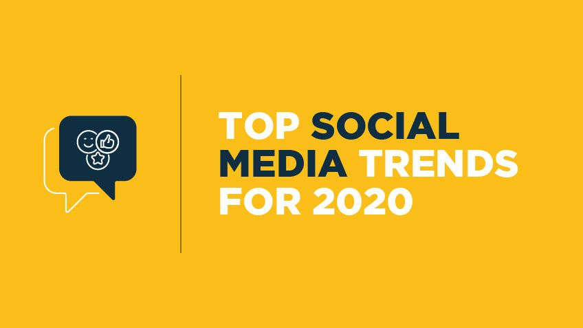 top 5 social media trends to follow in 2020
