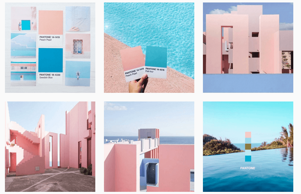 organize an Instagram aesthetic for your brand