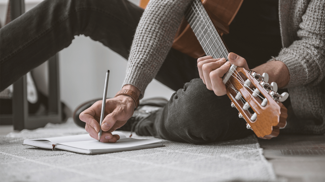 build a songwriting routine